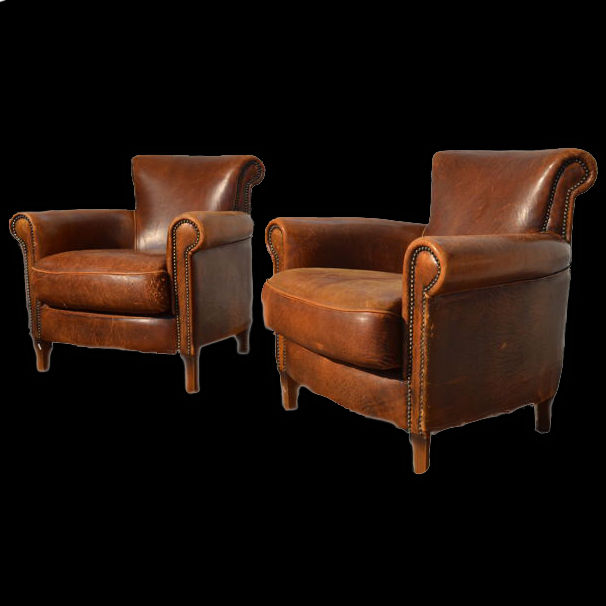 Fabulous Pair Of England Armchairs Leather England Circa 1920 Catawiki Pdpeps Interior Chair Design Pdpepsorg