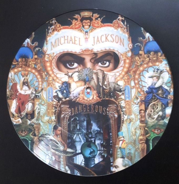 Michael Jackson Dangerous Picture Disc Lp Rare