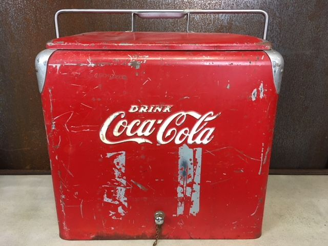 Coca Cola - Originele vintage cooler - large model - Ca. 1960