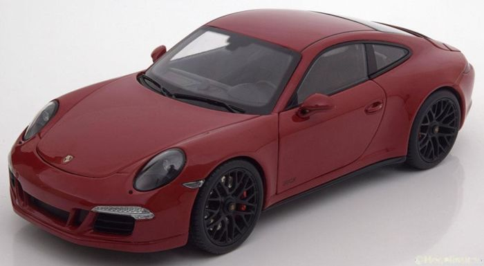 Schuco - 1:18 - Porsche 911 Carrera GTS Coupe - Color red