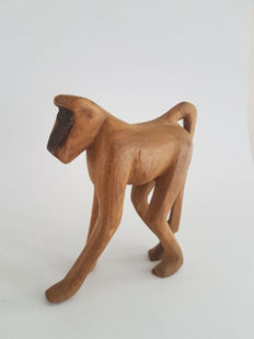 Teak monkey - design - digned