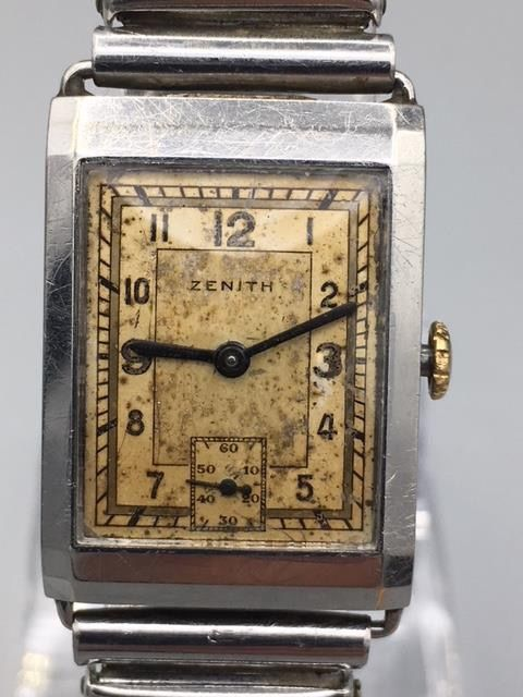 Zenith - Doctor's Watch-Antique 100Years Old - 8 3/4F - Homme - 1901-1949