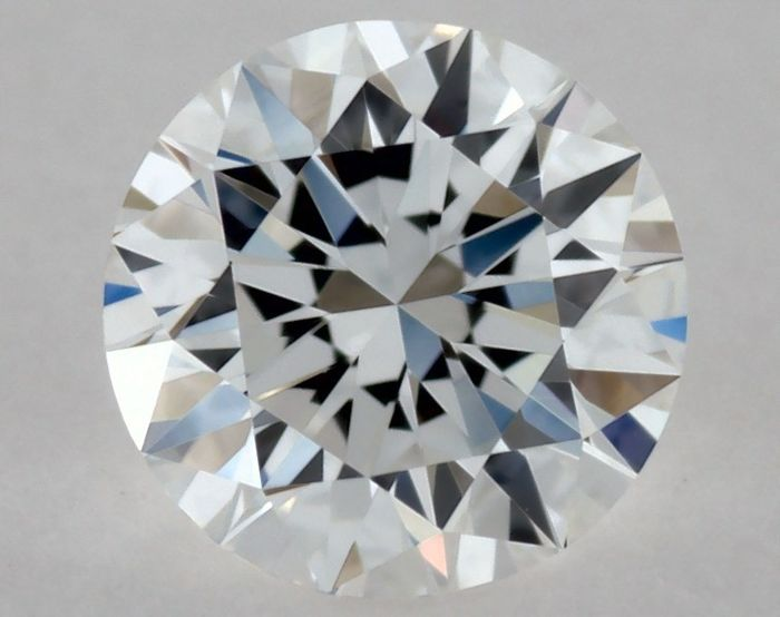 Round brilliant diamond, colour D, clarity IF, certified GIA, weight 0.30 ct