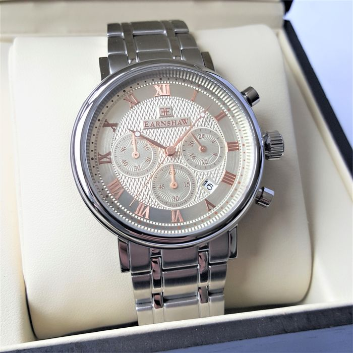 Thomas Earnshaw - Beaufort Multifunction Chronograph - Homme - 2018 - New