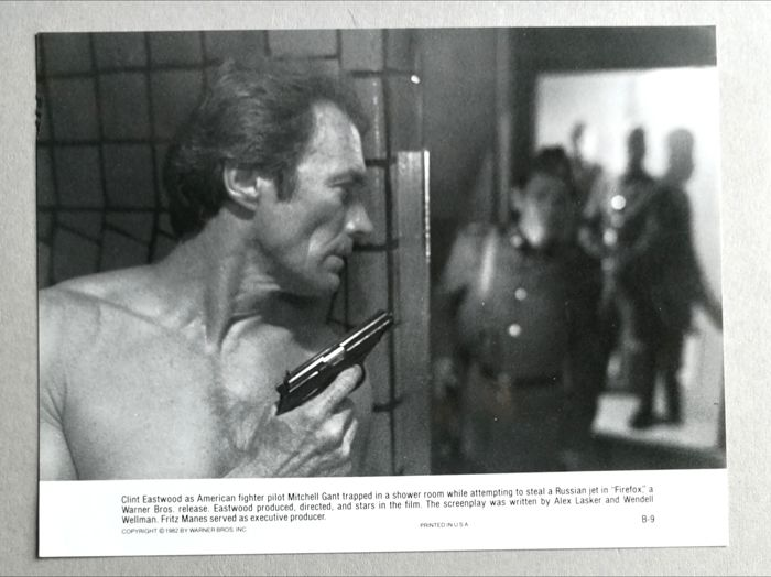 Unknown/Warner Brothers - Clint Eastwood, 'Pale Rider', 1985 & 'Firefox', 1982
