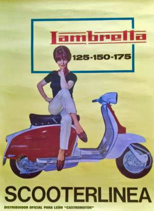 Anonymous - Lambretta Scooterlinea - c. 1970
