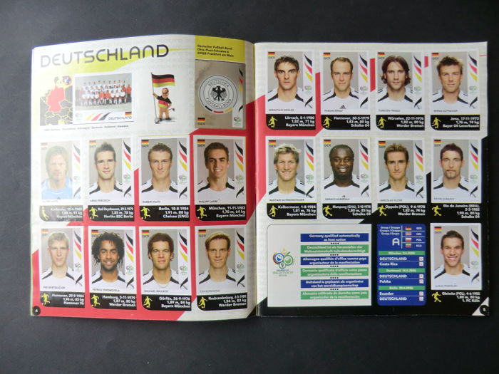 Panini - FIFA World Cup Germany 2006 - Complete album including order form