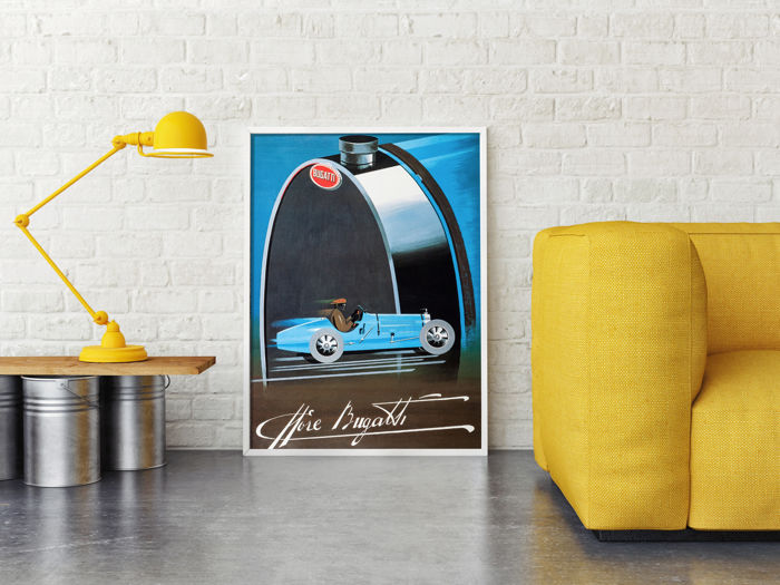 POST - Poster Replica Of Razzia Poster Bugatti