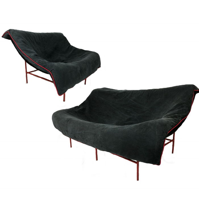 Gerard van den Berg for Montis - 'Butterfly' SET armchair + sofa