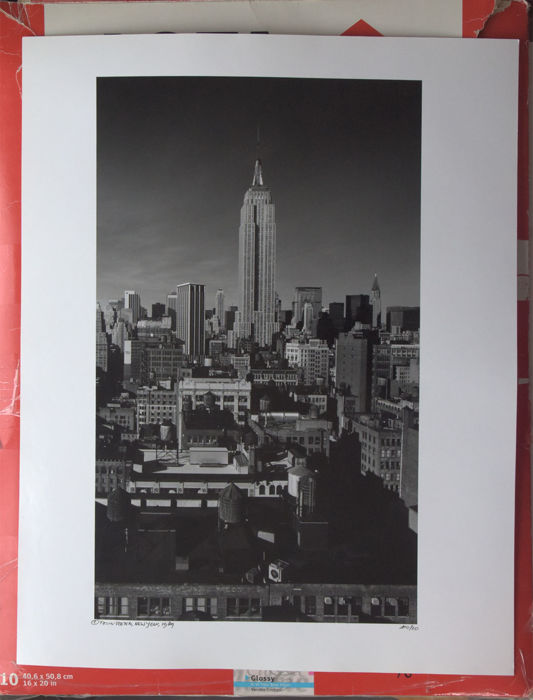 Teun Voeten (1961-) - Skyline with Empire State Building, 1989