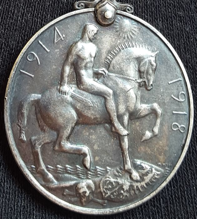 United Kingdom - Medal 1914-1918 'British war' George V - silver