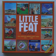 CD Box Sets / Special Item (4): (1,2) Ry Cooder; (3) Little Feat; (4) The Traveling Wilburys