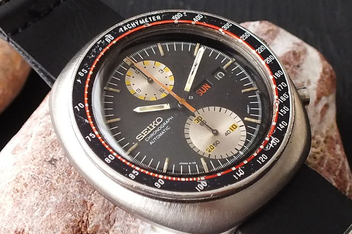 "Seiko - Speed-Timer ""Yachtman"" UFO Chronograph (6138-0012) - 791191 - Heren - 1970-1979"