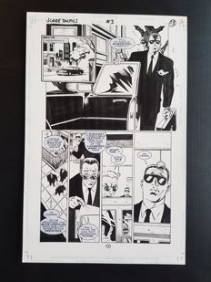 Anthony Williams - Original Art Page - Scare Tactics #3 - Page 13 - (1998)