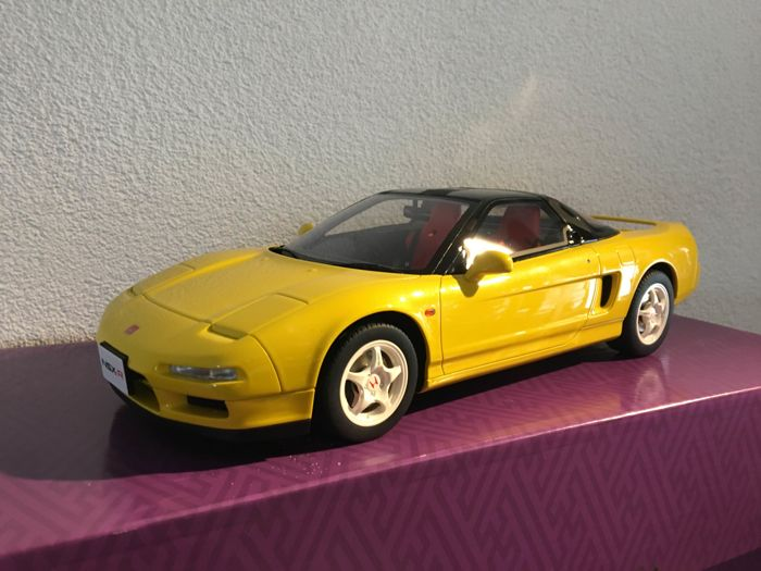 Kyosho-GT Spirit - Scale 1/12 - Honda NSX Type R - Yellow - Limited 200 pieces