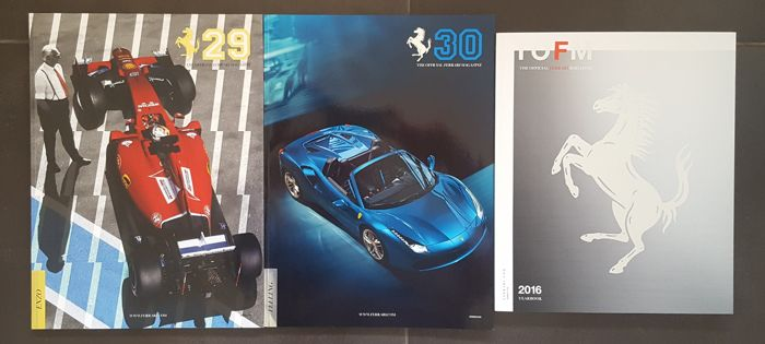 Kavel van 3 The Official Ferrari Magazine