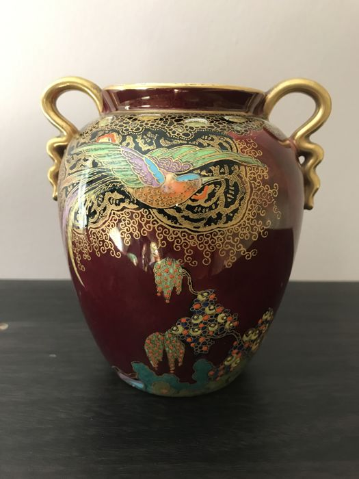 Carlton Ware Vase Decor Bird Of Paradise Catawiki