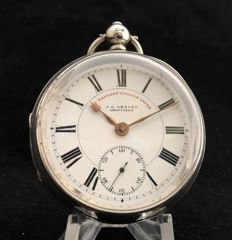 J. G. Graves Sheffield -  pocket watch - The Express English Lever - Uomo - 1905