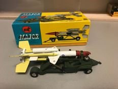 Corgi Toys - schaal onbekend - # 1109 Bristol Bloodhound Guided Missile on loading Trolley