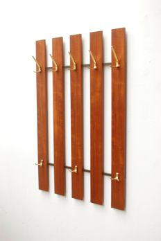 Manufacturer unknown - vintage wall-mounted coat rack