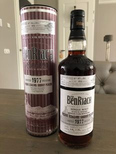 Benriach 1977  34 Year Old Pedro Ximenez Sherry Finish - OB