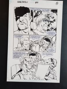 Anthony Williams - Original Art Page - Scare Tactics #4 - Page 9 - (1998)