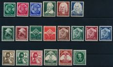 German Reich - 1933 - 1935 - small collection Michel 479 571