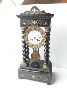 French column mantle clock – period 1880