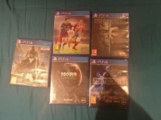 5x PS4 Video games like Destiny + Star Wars and more