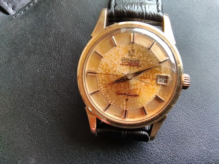 Omega - Constellation Pie-Pan - cal.561  - Gold Cap - orig. Constellation Box - Hombre - 1960 - 1969