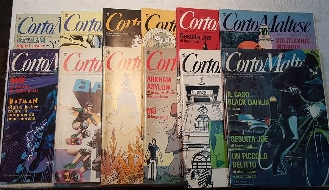 Corto Maltese - complete year - 12 issues with inserts (1991)