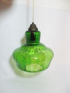 Art Deco mouth blown glass Ceiling Lamp