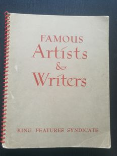 Famous Artists & Writers - King Features Syndicate - (1949)