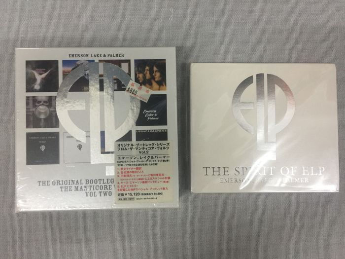 Emerson Lake & Palmer The Original Bootleg Series From The Manticore Vaults Vol Two (2002 Japanese) & The Spirit Of ELP