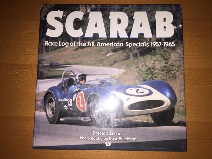 Scarab - Race Log of the All-American Specials - Book