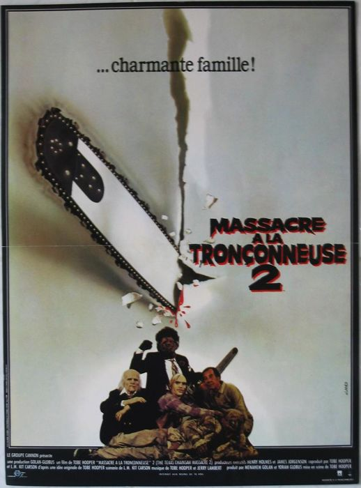 Massacre à la tronconneuse 2 / The Texas Chainsaw Massacre 2 (Tobe Hooper) - 1986