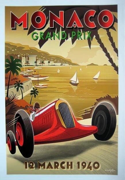 """Grand Prix Monaco"" 12 March 1940 (Race is canceled)"