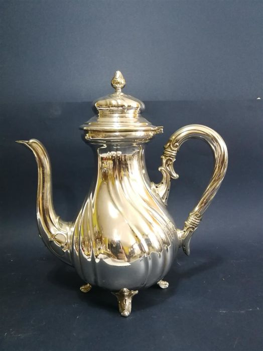 Elegant teapot - English silver plated - by WMF