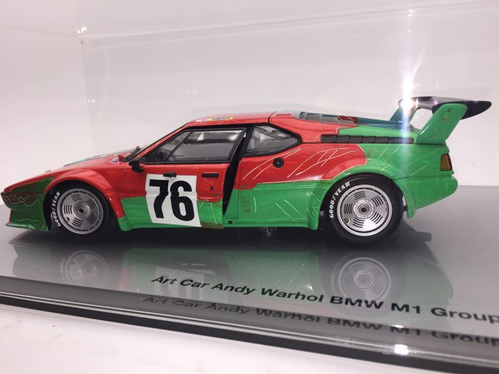 Minichamps - Scale 1/18 - BMW  M1 Art Car - Andy Warhol