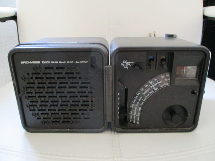 Brionvega TS 505 Cubo Radio from the 70s
