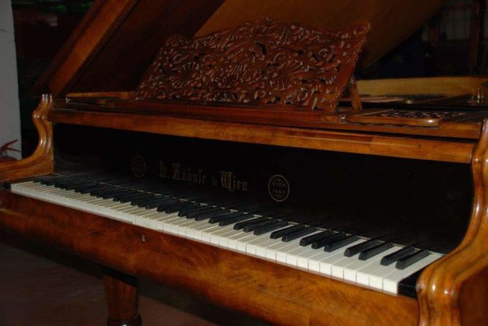 Viennese grand piano - 1800 - gorgeous