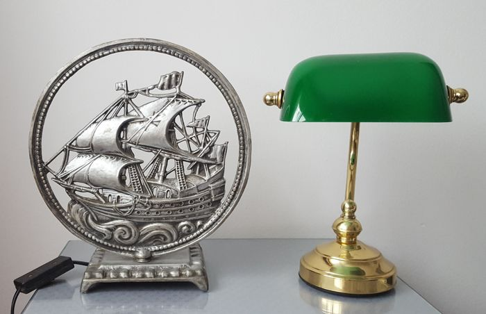 Judge lamp and boat lamp