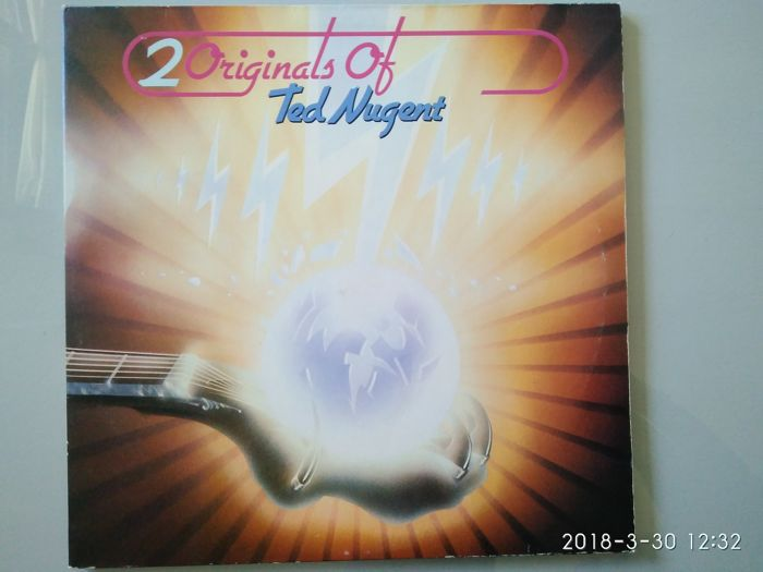 Rock 70s 80s Lot of 9 LP Albums including Ted Nugent -  Yes -  Rainbow -  Moody Blues