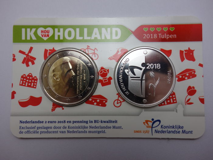 Netherlands - Holland Coincard 2018 - Silver