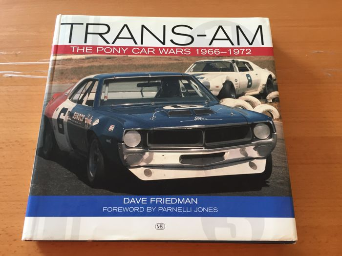 Trans - AM The Pony Car Wars - Book
