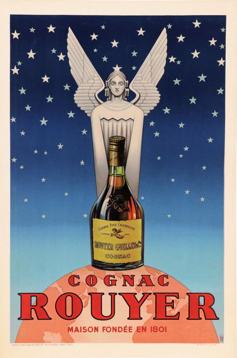 Pub TH - Cognac Rouyer - 1945