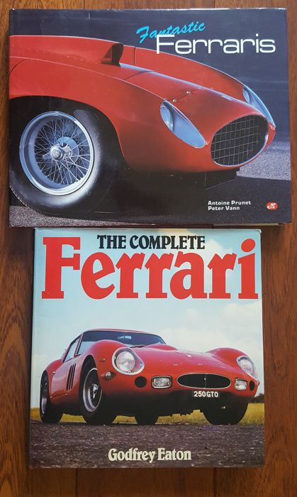 Fantastic Ferraris and The Complete Ferrari