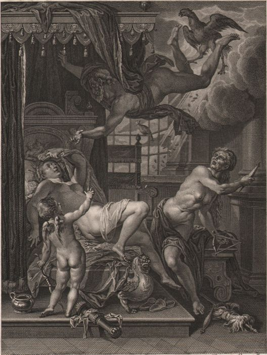 Rottenhammer (1564 - 1623 ) - Jupiter and Danae