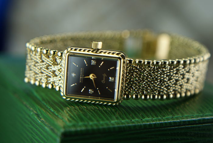 Wittnauer - Swiss Ladie's watch with Diamonds - Dames - In perfect condition