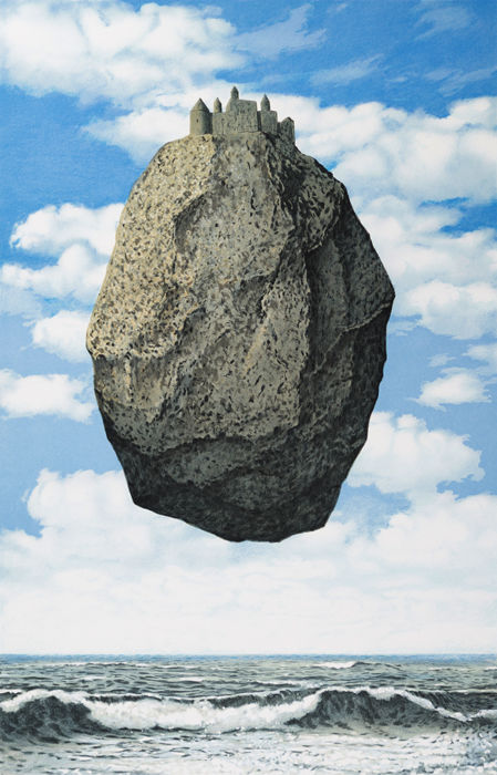 René Magritte (after) - Le Château des Pyrénées (The Castle of the Pyrenees)